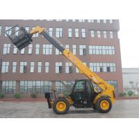 China 16.7 m Lifting Height Rough Terrain Telescopic Forklift With Cummins Engine wholesale