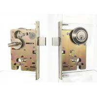 Quality SS Single Cylinder Entry Door Deadbolt Anti Bump sliding door security lock for sale
