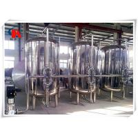China Online Monitor Commercial Water Purification Systems Automatic PLC Control ISO9001 Assured wholesale