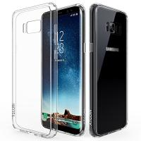 China Scratch Resistant Flexible TPU Gel Rubber Soft Silicone Samsung Galaxy S8 Cover wholesale