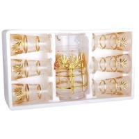 China Personalized Printed Drinkware Drinking Glass Gift Set for Coffee, Tea wholesale