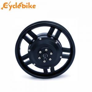 China Black 12 inch 36V 250W Electric Bike Hub Motor Brushless Geared Motor wholesale