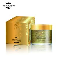 Beauty Cosmetics 24 Karat Gold Co2 Face Mask For Skin Care OEM / ODM