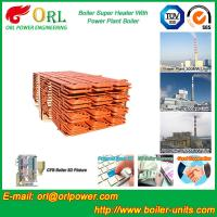 China Boiler Steam Superheaters Steel , Separately Fired Superheater Once Through wholesale