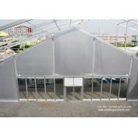 China 25m Span TFS Marquee Tent Silvery PVC Flame Retardant Roof for 1000 Person Outdoor Events wholesale