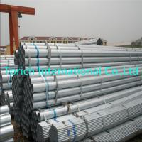 China Hot Dip Galvanized Welded Steel Tube Round Shape With Od 12.7 - 609.6mm wholesale