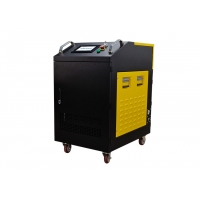 China 200w Hand Held Fiber Laser Cleaning Machine Rust Oil Painting Surface Laser Cleaner Cleaning Machine wholesale