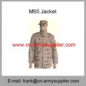 Wholesale Cheap China Army Digital Desert Camouflage Military M65 Combat Jacket
