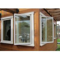 China Energy Saving Thermal Break Aluminum Casement Windows with Double Glazing Glass wholesale