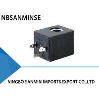 China Professional TRB Black Coil Solenoid Valve High Performance Eco Friendly wholesale