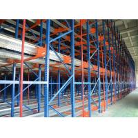 China Radio Shuttle Racking System Colled Roll Steel Q235b Corrosion Resistance wholesale