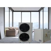 Quality Meeting 6p Side Blowing Split Electric Air Source Heat Pump Double Pipe Heat Exchanger for sale
