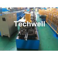 China Guide Rail Roll Forming Machine For Making Elevator , Doorframe , Window Frame As Well As Other Sliding System Devices wholesale