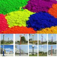 China Synthesized By Epoxy Color Powder Coatings For Lanterns High Glossy wholesale