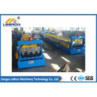 China 380V 50Hz Blue Metal Deck Roll Forming Machine 8-10m/min High Working Speed wholesale