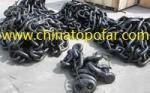 Anchor chain,oil rig mooring chain,marine mooring chain,shackle