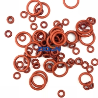 Quality Red Green Brown NBR FKM Silicone JIS AS568 Rubber O Rings for sale
