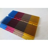 Quality Colour Anodized Aluminium Heat Sink Profiles with CNC Milling Processing for sale