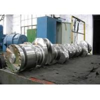 China High Performance Forged Steel Crankshaft Alloy Steel Forgings , ASTM Standard wholesale