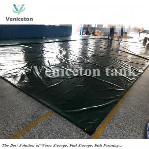 China Veniceton foldable big capacity water tank  PVC 200m3 water storage tank on sale