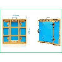 China Super Slim LED Stage Screen Aluminum Cabinet P3 576 * 576 For Indoor Display wholesale