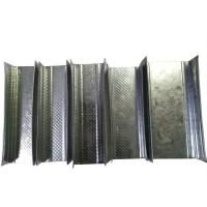 China Good Rigidity Galvanized Metal Studs Studs And Tracks High Load Capacity on sale
