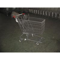Quality Color Powder Coating canadian style Supermarket Shopping Carts for sale