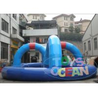 China Popular Go Karts Racing Track PVC Commercial Racing  Track For Kids Inflatable Interactive Games For Zorb Ball wholesale