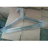 China Iron Wire Material Powder Coating Hangers With 1.8mm - 2.3mm Thickness on sale
