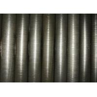Carbon Steel Spiral Fin Tube , Air Heat Exchanger Finned Radiator Pipe