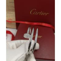 China 18k White Gold High End Custom Jewelry Cartier Juste Un Clou Bracelet With Diamonds wholesale