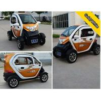 China Close Body Passenger 4 Wheel Electric Car With 72V 24 Tube Controller on sale