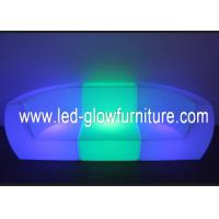 China Commercial LED lighted sofa / couch , glowing illuminated furniture with led lights wholesale