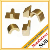 China copper metal alloy extrusion profile sections hardware C38500 CuZn39Pb3  CuZn39Pb2 CW612N C37700 wholesale