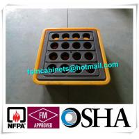 Buy cheap IBC Chemical Spill Containment Trays , 4 IBC Tank Safety Storage Spill Deck And Spill Pallet from wholesalers