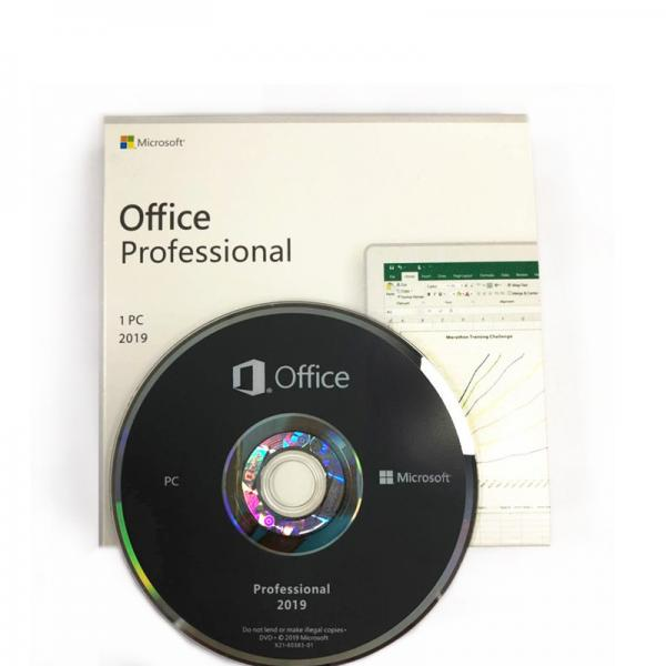 Quality MS Office 2019 Professional OEM 1280x800 With DVD Coa Key Code for sale