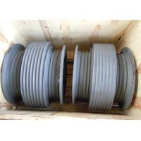 China Aluminium Alloy Drum Shaped Wire Rope Reel with Different Reel Diameter wholesale
