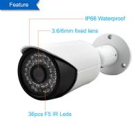 Quality POE 4.0Megapixel HD Waterproof IP Camera with 30M IR Night Vision for sale