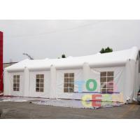 China EN14960 White Inflatable Tents for Wedding , Party /  Event Inflatable Lawn Tent wholesale