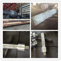 China Alloy Steel Pinion Forged Steel Shaft 40CrNiMo For Industrial Equipment wholesale