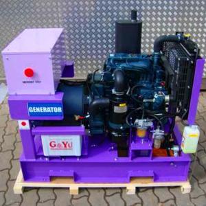 China 8kw to 20kw kubota engine AC 220 volt portable generator wholesale