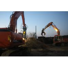 Buy cheap BeiYi excavator attachment hydraulic scrap steel shear Demolition of Car, steel from wholesalers