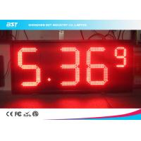 Buy cheap Red Semi Outdoor Led Gas Price Display With High Brightness 5000cd/sqm from wholesalers