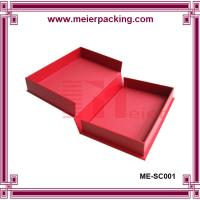 Creative low price hard paper matte humdrum packaging gift box for wedding photo album