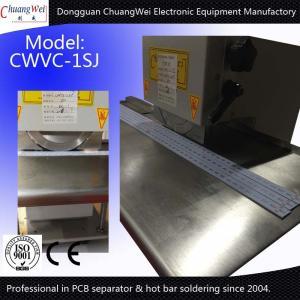 China V Groove PCB Depanelizer Pre Scoring PCB Depaneling V Cut PCB Separator wholesale