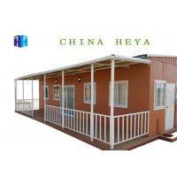 China 81 Square Meters Eps Sandwich Panel Prefab House Modern Home Interior Design on sale