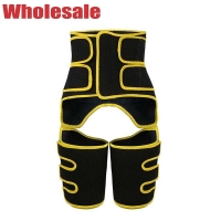 China Yellow Hook And Loop Closure XL Waist Arm And Thigh Trainer OEM wholesale