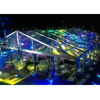 China Fire / Water Proof Transparent Tent Fabric Clear Event Tents 20m * 50m wholesale
