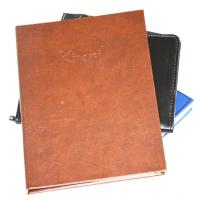 China leather notebook wholesale
