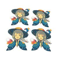 China Fashion Design Custom Embroidered Patches / Heat Press Embroidered Patches on sale